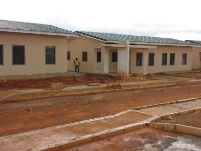 20th June 2016 Fomena Hospital Staff Accommodation