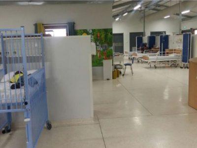 2016.07.07 Dodowa Hospital Photos - Paediatric ward in use