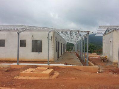 08th July 2016 Fomena Hospital Ward Building