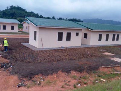 22nd July 2016 Fomena Hospital Staff Housing