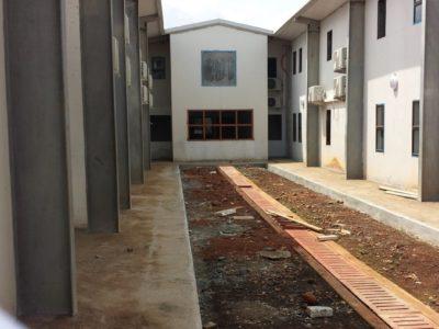 23rd August 2016 Fomena Hospital Main Building Courtyard