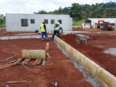 18th October 2016 - Kumawu Hospital Kerb Construction