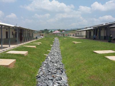 1th July 2017 Dodowa Hospital Landscaping